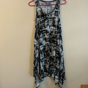 Tie Die Tank Dress